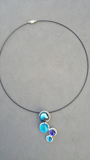 Glacial Bobble Necklace