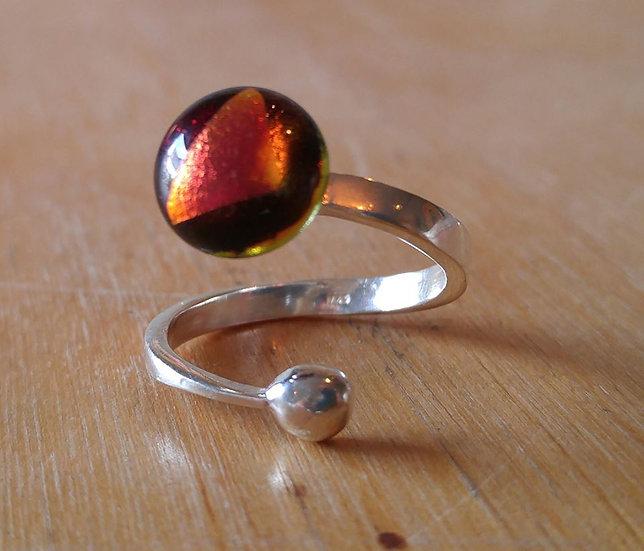 Sterling Adjustable Ring