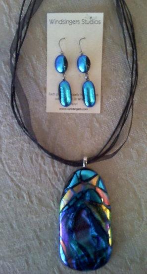 Taos Summer Earrings and Pendant Set