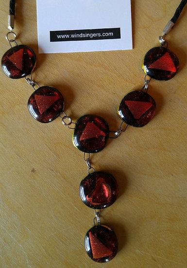 New York Nights Mini Drop Center Necklace