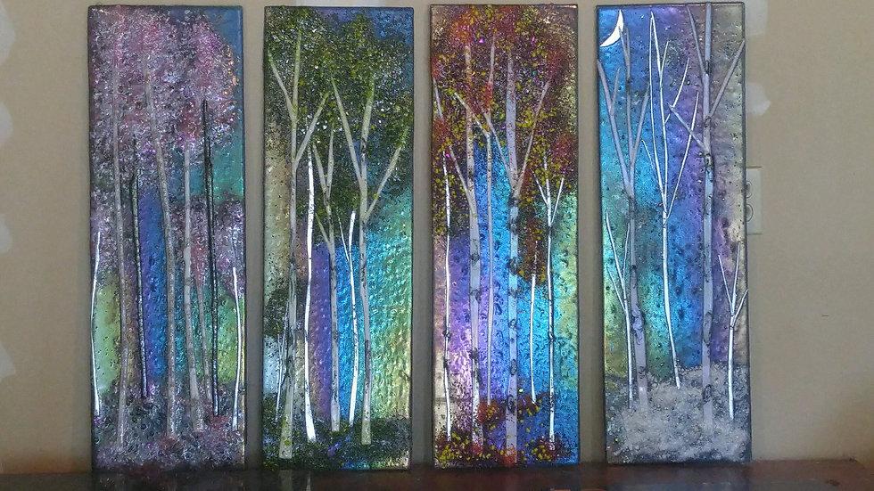 """Four Seasons 11""""x29"""" ea."""