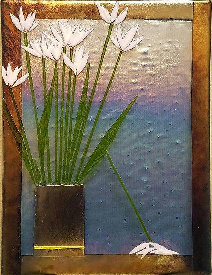 Pink Tulips in Vase