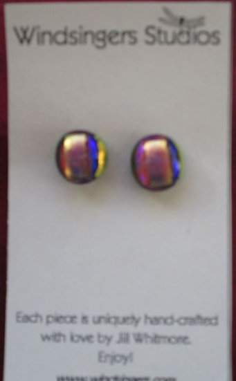 Mardi Gras Stud Earrings