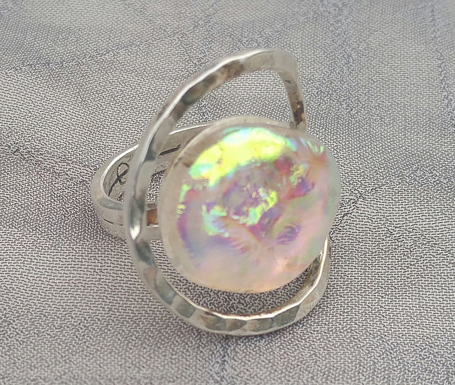 Desert Sun Spherical Ring