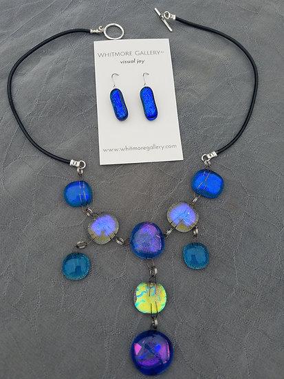 Ocean Joy Necklace with earrings