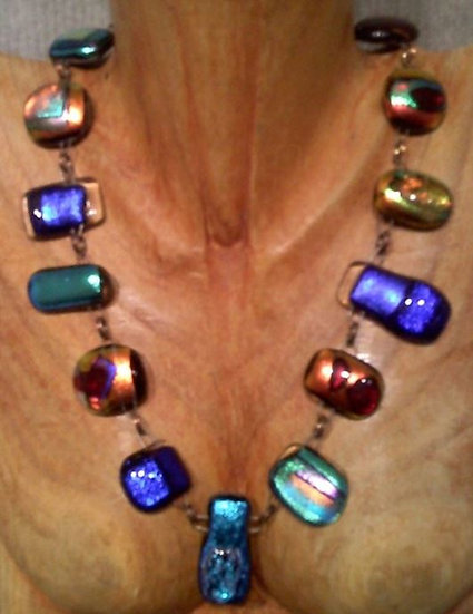Crazy Colorful Full Wrap Around Necklace