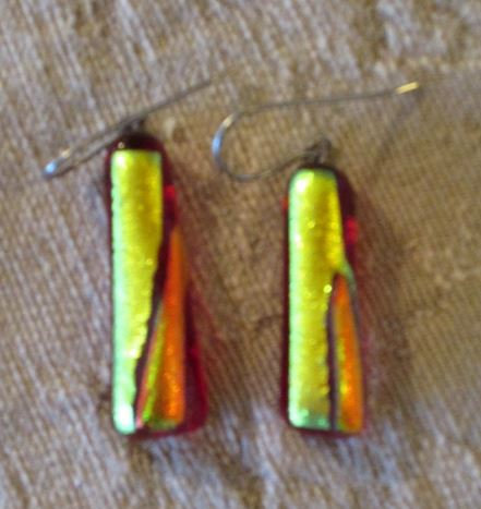 Angel Fire Earrings