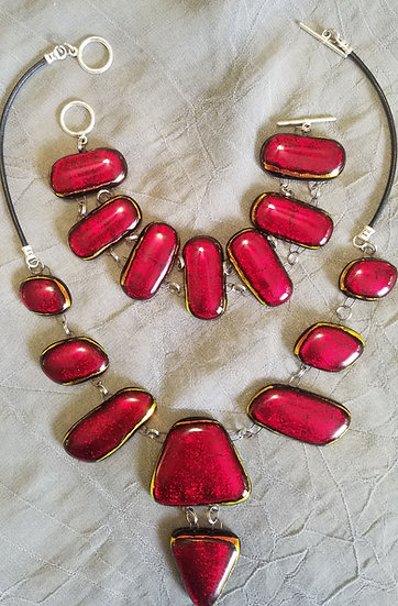 Holidays!! Necklace and Bracelet