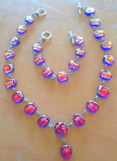 Sedona Slunset Necklace and Bracelet Set