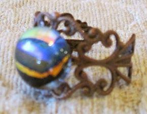 Honey Bee Filagree Ring