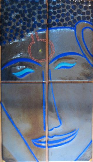 Thai Buddha in 4 Panels