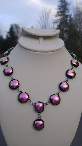 Dusty Pink Full Wrap Necklace