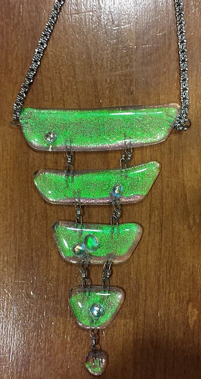 Green Goddess (Seahawk:)  Necklace