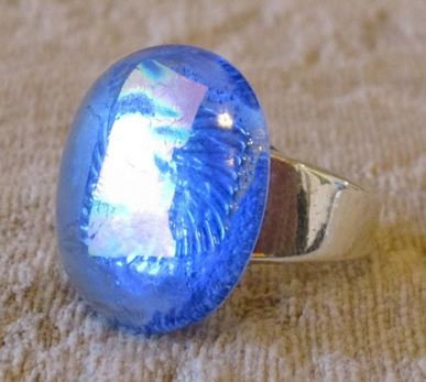 Lumins Periwinkle Ring