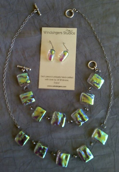 Sunshine Bracelet, Necklace and Earrings Set