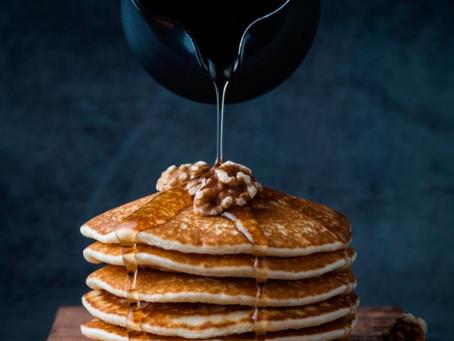 Pancakes cu miere și nuci