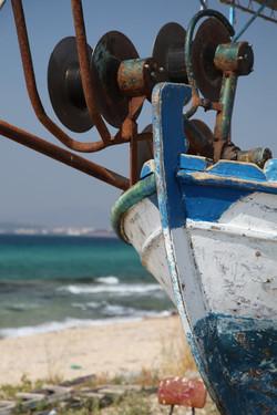 Dinghy on the Mediterranean