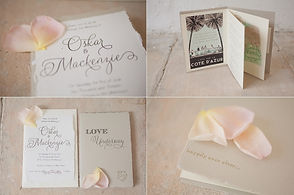 Wedding Invitations: Mackenzie & Oskar