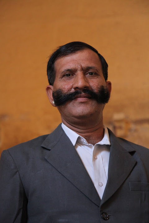 Mustached Gentleman in Jaipur