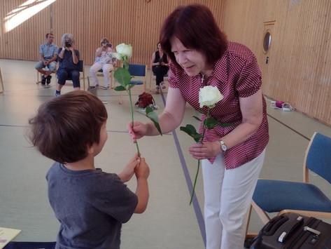 Tante Inge geht in den Ruhestand