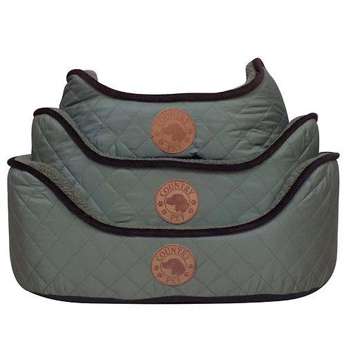 Berber Fleece Dog Bed