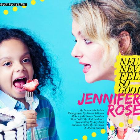 Jennifer Rose - Neurotic Never Felt So good - Style Editorial Feature