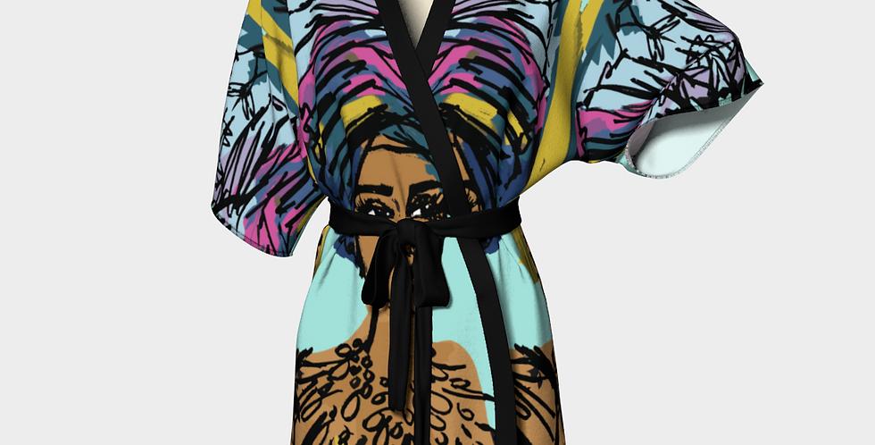 Imani Queen  - Kimono Robe
