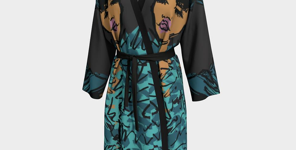 Ocean Queen  - Kimono Robe