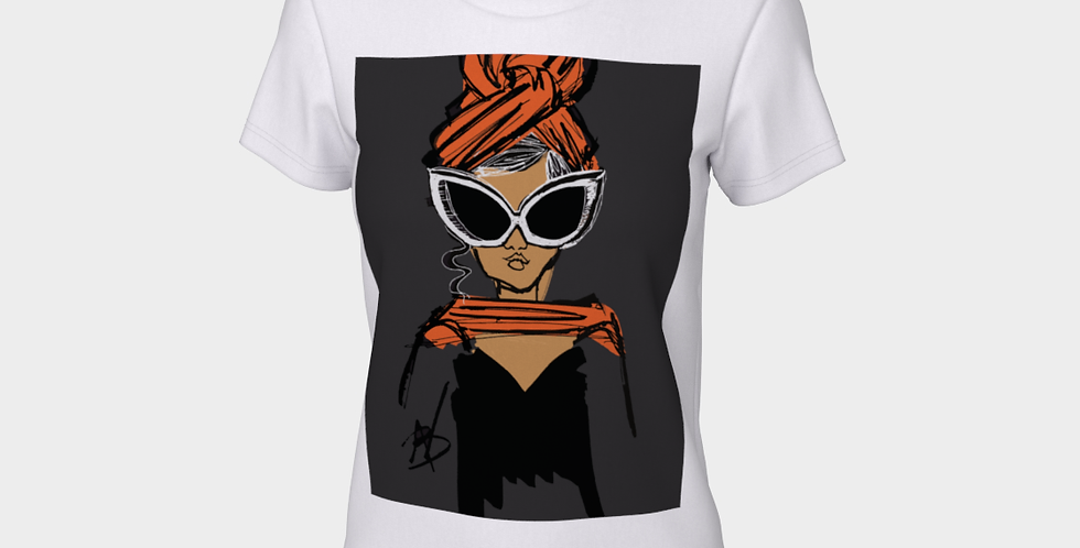 Tang Queen  - Fitted T-shirt