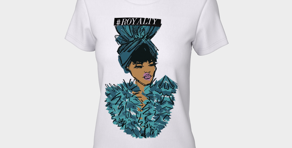 Ocean Queen  - Fitted T-shirt