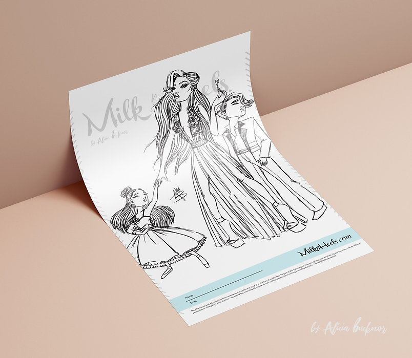 Milk & Heels.bar GREGO M. inspired colou