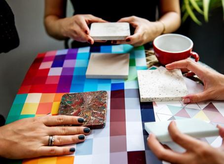 Eye Candy: Tile as an Art Piece
