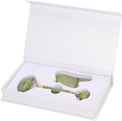 Jade Roller Set - Green