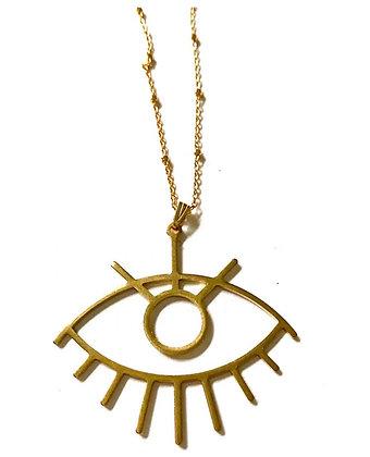Handmade Evil Eye Necklace