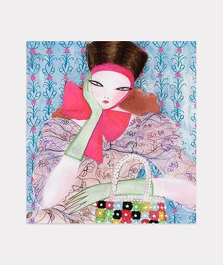 Pink Bow by Efrosinya Anisenkova