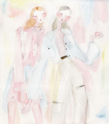 Alberta Ferretti for SHOWstudio