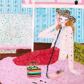 Phone Call by Efrosinya Anisenkova, 2020