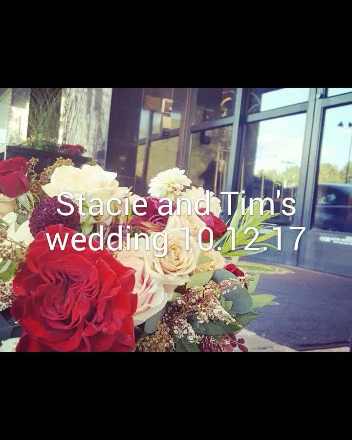Here's the video from Stacie and Tim's wedding!  #rusticrootsdesign #welovewhatwedo #fallwedding #thedorrance #pvd #newlywalshes