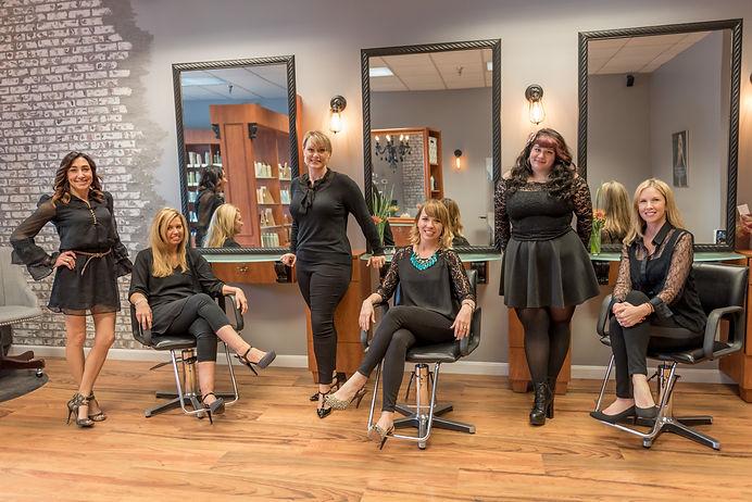 Wakefield RI's Salon Bella staff & stylists photo