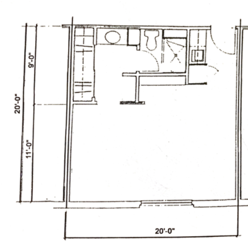 Efficency 400 sq.ft
