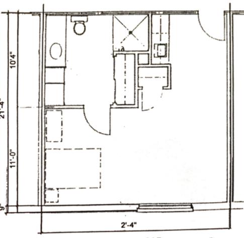 Handicap Efficency 455 sq.ft