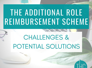 The Additional Role Reimbursement Scheme   Challenges and Some Potential Solutions