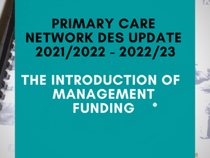 PCN DES Updates and the Introduction of Management Funding