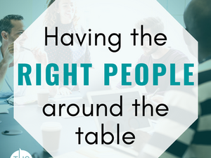 Network Fundamentals - Having the right people around the table
