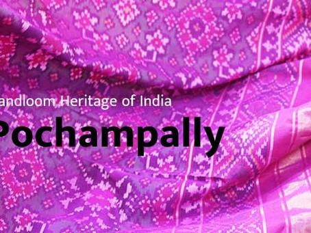 Secrets of Indian Handloom — Pochampally  Ikat