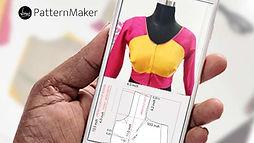 Single-Katori-blouse-pattern-Pattern-mak