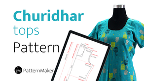 Churidar Pattern Maker | Vibha's Fashion
