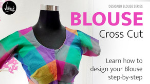 Blouse design    Learn how to design your blouse step-by-step