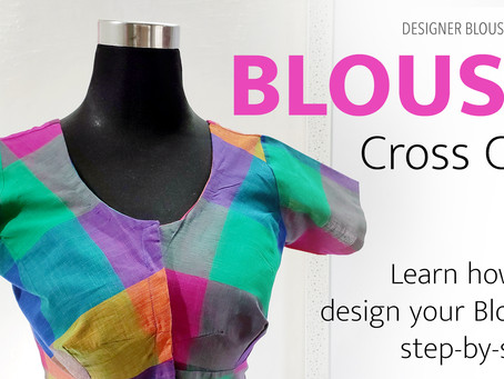 Blouse design || Learn how to design your blouse step-by-step