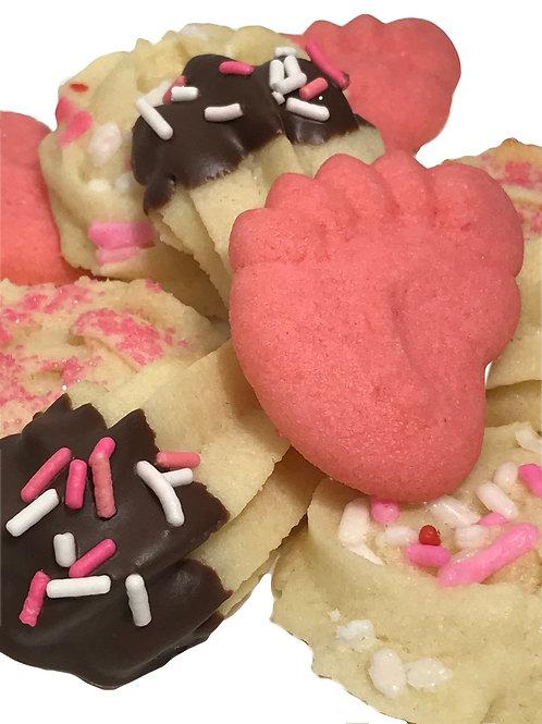 Its a Girl Italian Butter Cookies